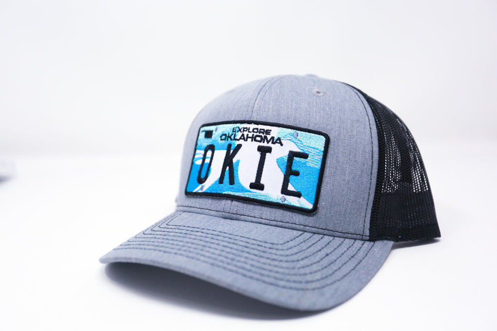 Okie License Plate Hat