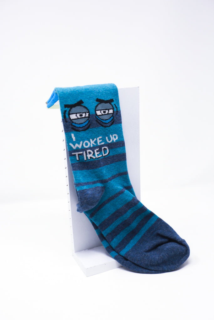 Woke Up Tired Socks