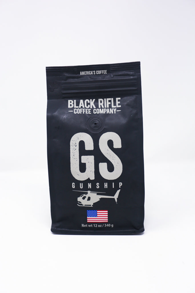 Gunship Coffee Roast, 12oz Bag