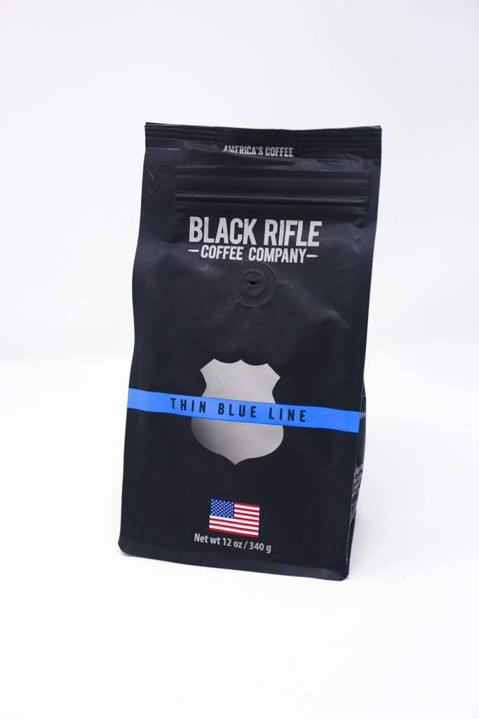 Thin Blue Line Coffee Roast, 12oz Bag