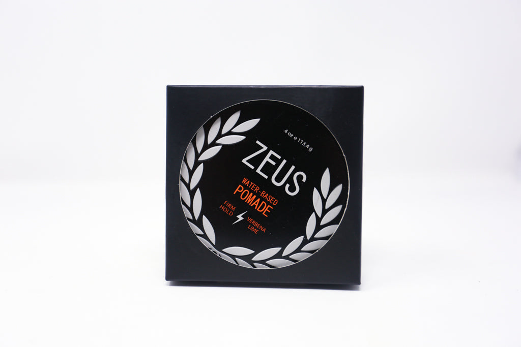 Zeus Pomade, Firm Hold (Verbena Lime)