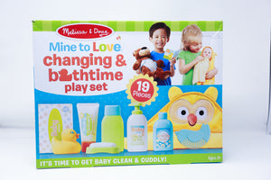 Mine to Love- Changing & Bathtime Play Set