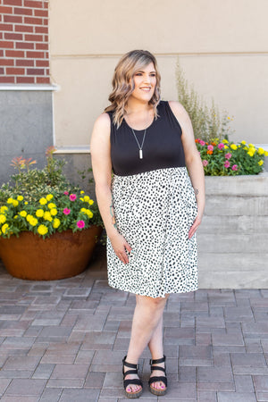 IN STOCK Dalmatian Tank Dress