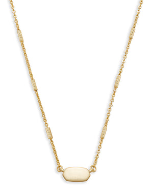 Fern Necklace- Gold