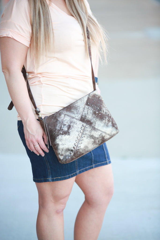 Prairie Crossbody- Heavy Metal