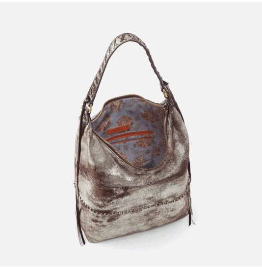 Entwine Hobo Bag- Heavy Metal
