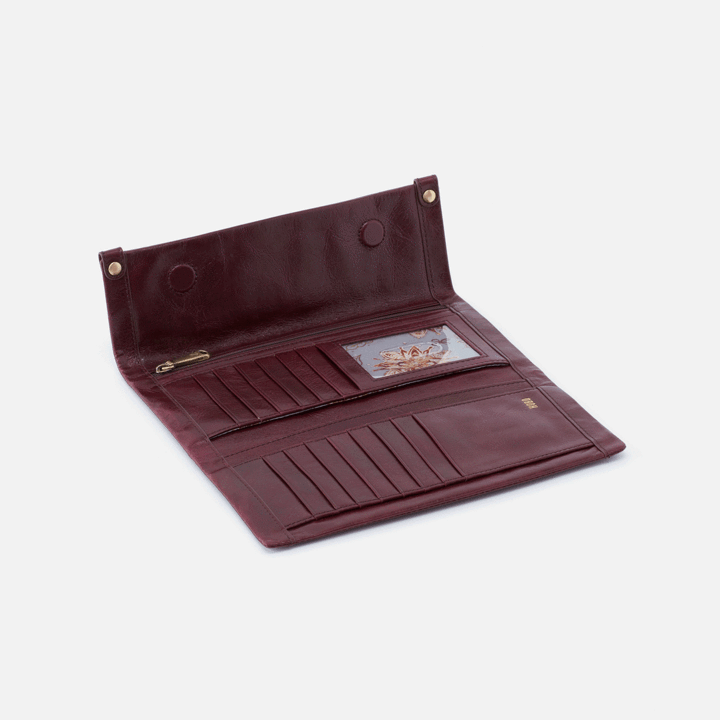 Fable Wallet- Deep Plum