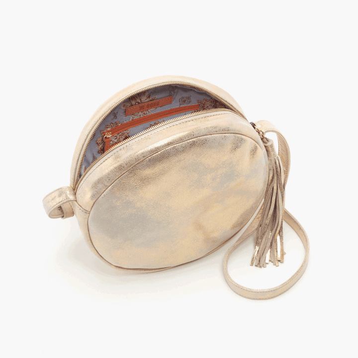 Groove Crossbody- Distressed Gold