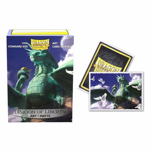 Dragon Shield Art Sleeves - The Upper HAnd