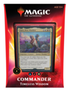 Magic the Gathering - Timeless Wisdom Commander 2020 Deck