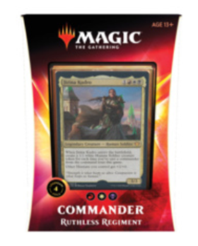 Magic the Gathering - Ruthless Regiment Commander 2020 Deck