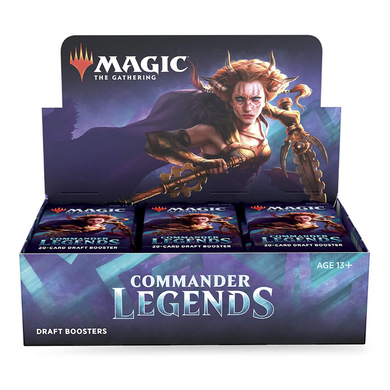 Magic: The Gathering Commander Legends Draft Booster - the upper hand