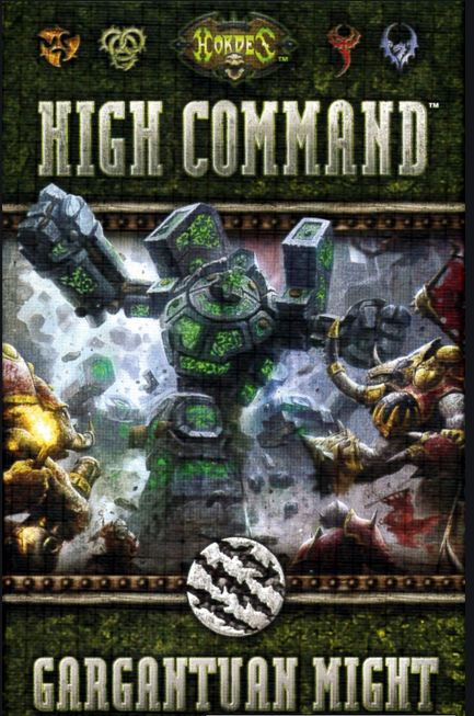 Hordes High Command Gargantuan Might Card Expansion