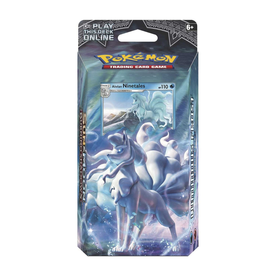 Pokemon Burning Shadows Theme Deck: Luminous Frost - The Upper Hand