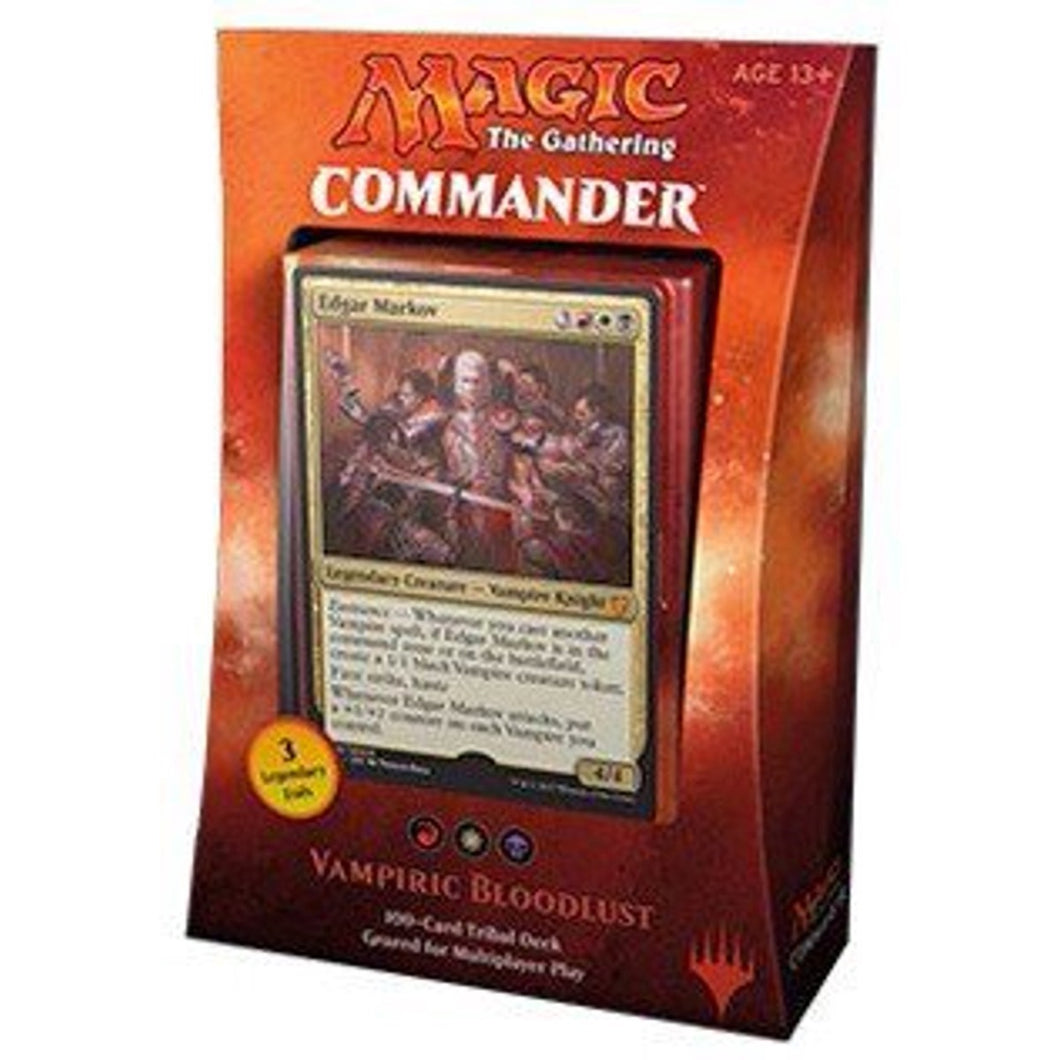 MAgic the Gathering Commander 2017 Vampiric Bloodlust- The Upper Hand