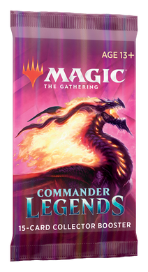 Magic: The Gathering - Commander Legends Collector Booster Pack