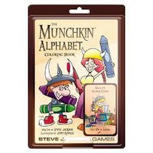 Load image into Gallery viewer, The Munchkin Alphabet Coloring Book