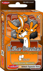 Killer Bunnies & the Ultimate Odyssey Cool Psychic Penguins Deck C Animal Exp