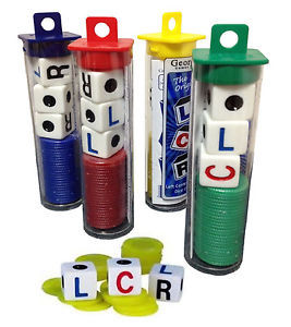 LCR Dice Game Tube