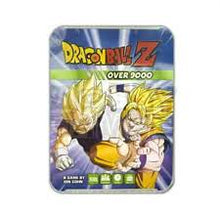 Load image into Gallery viewer, Dragonball Z Over 9000 Card Game Tin