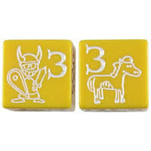 Load image into Gallery viewer, Munchkin Jumbo D6 Yellow