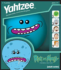 YAHTZEE Rick and Morty Meeseeks Edition