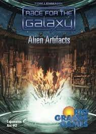Race for the Galaxy Exp. 4 Alien Artifacts
