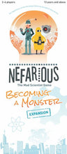 Load image into Gallery viewer, Nefarious: Becoming a Monster Expansion