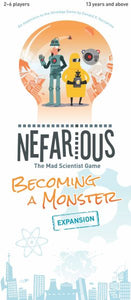 Nefarious: Becoming a Monster Expansion