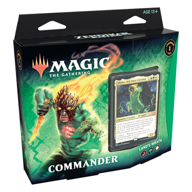 Magic the Gathering - Zendikar Rising - Commander - Land's Wrath - The Upper Hand