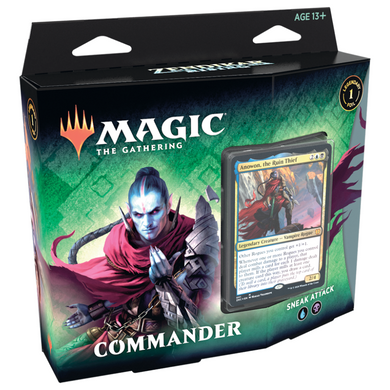 Magic the Gathering - Zendikar Rising - Commander - Sneak Attack