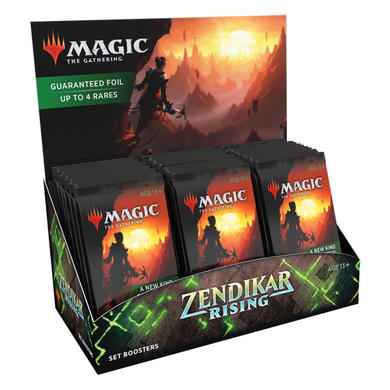 Magic The Gathering - Zendikar Rising - Set boosters - The Upper Hand