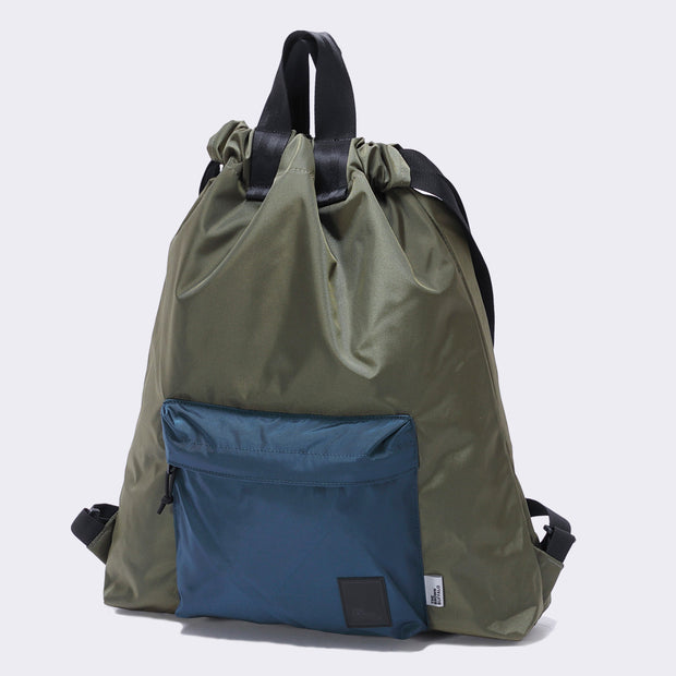 HOBO BACKPACK - OLIVE NAVY