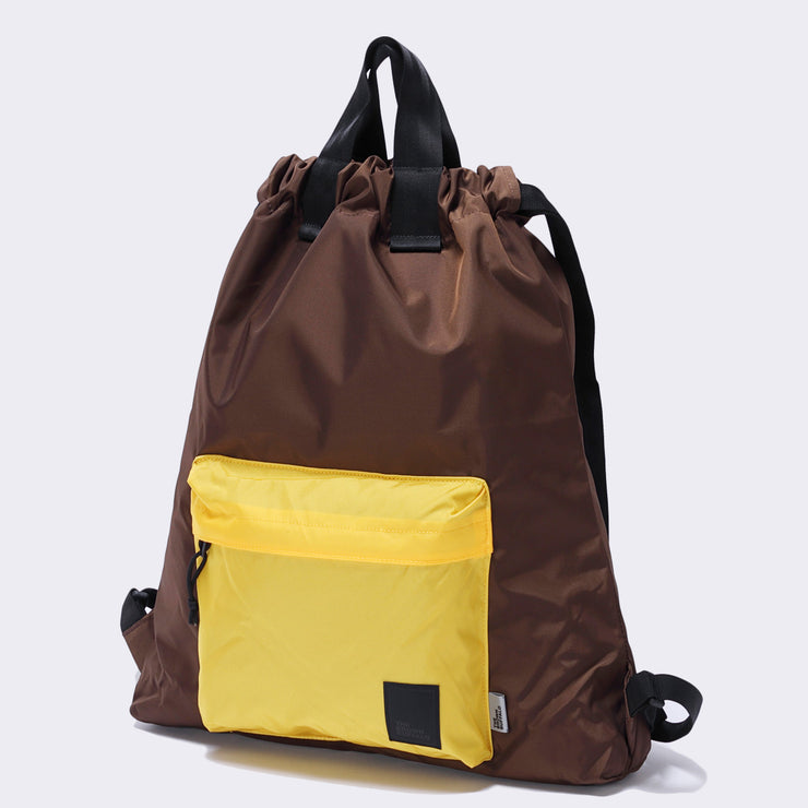 HOBO BACKPACK - CHOCOLATE GOLD