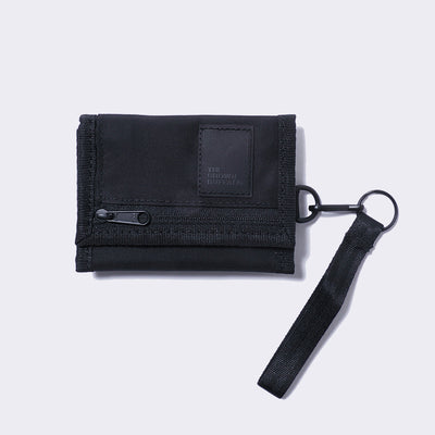 TRIFOLD WALLET-BLACK
