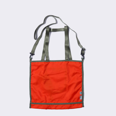 PK 3 WAY MARKET TOTE - UNIFORM ORANGE