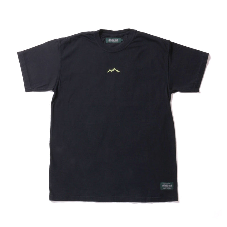 ALPINE T SHIRT - BLACK