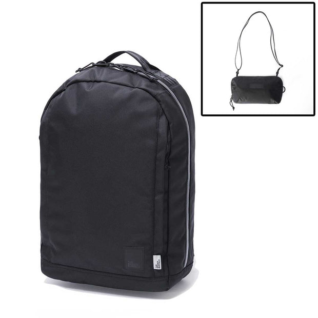 CONCEAL BACKPACK - BALLISTIC BLACK