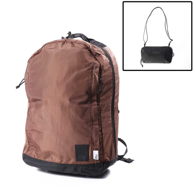 CONCEAL BACKPACK - FLIGHT CHOCOLATE