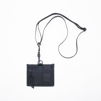 NECK POUCH - BLACK