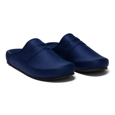 LOAFER MULE - NAVY