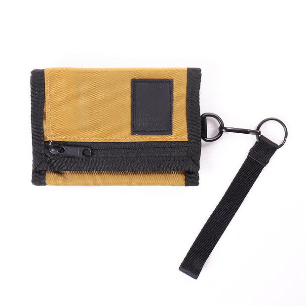TRIFOLD WALLET - ANTIQUE GOLD