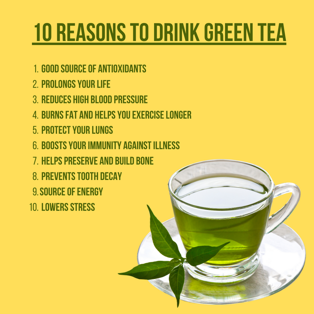 Benefits Green tea