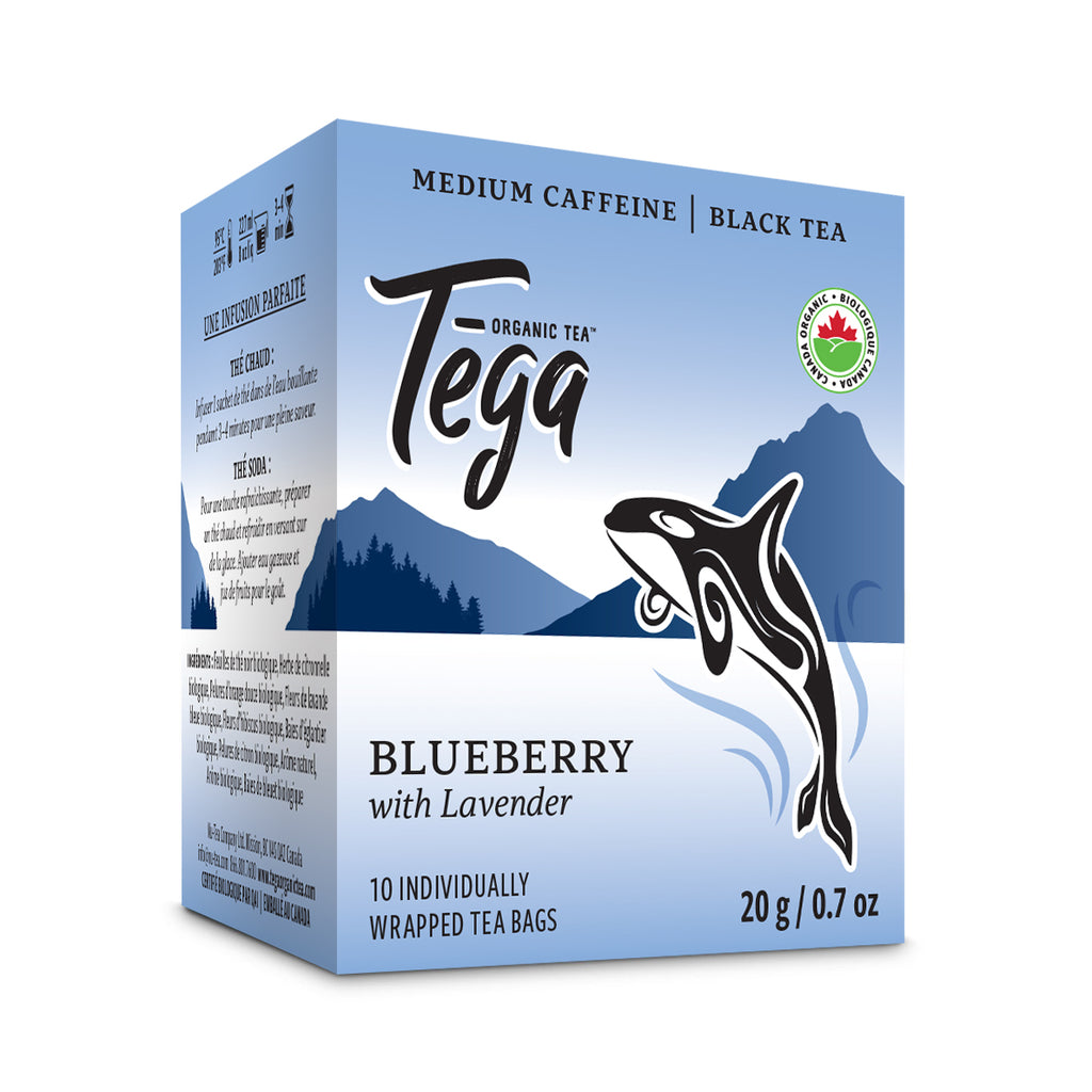 Organic Blueberry Lavender Tea