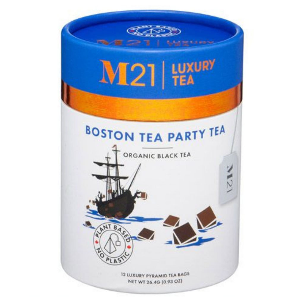 Boston Tea Party Tea - 12ct Luxury Canister