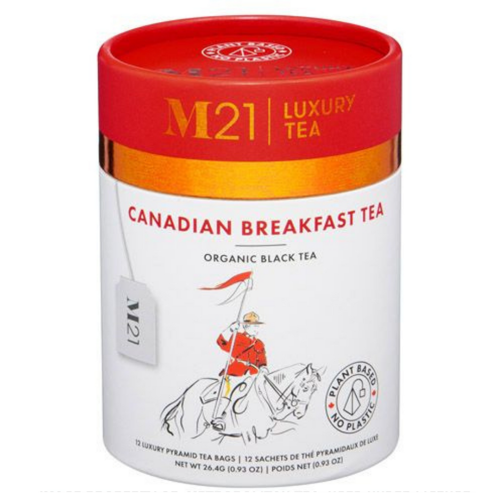 Canadian Breakfast Luxury Tea - 12ct Canister
