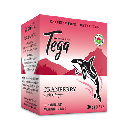 Cranberry Ginger tea