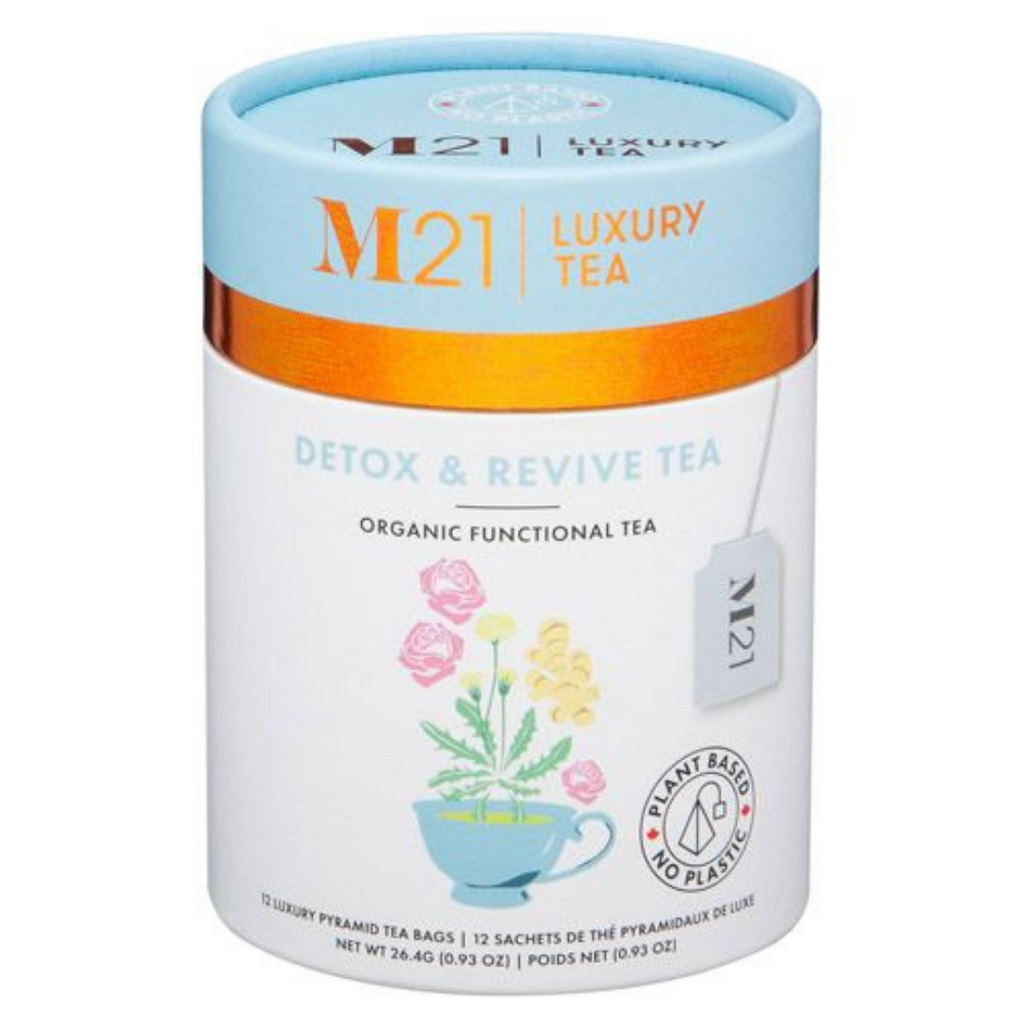 Detox and Revive herbal tea - 12ct Luxury Canister