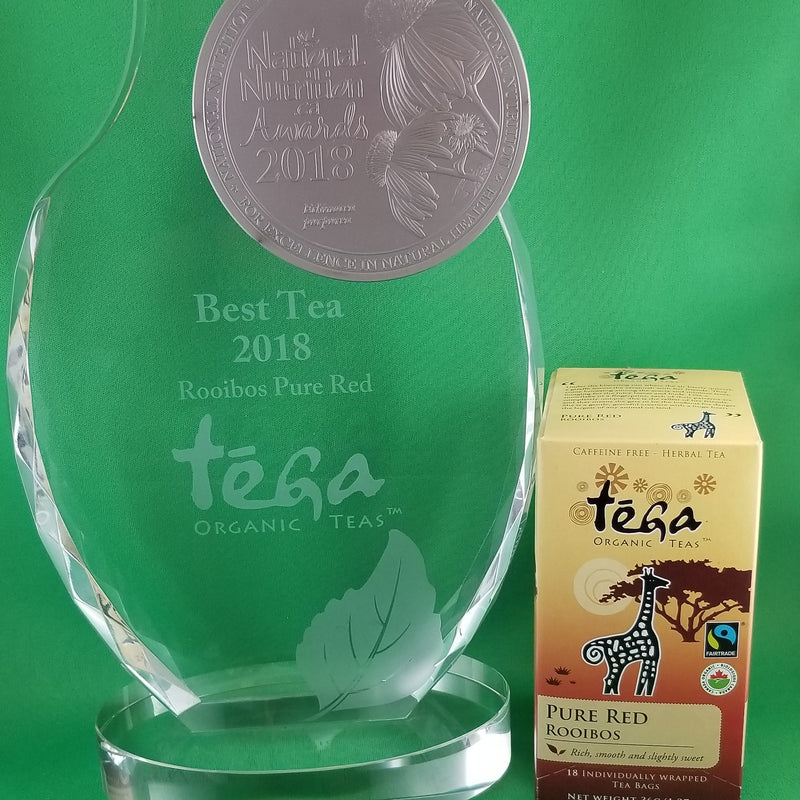 Tega Pure Red Rooibos Tea