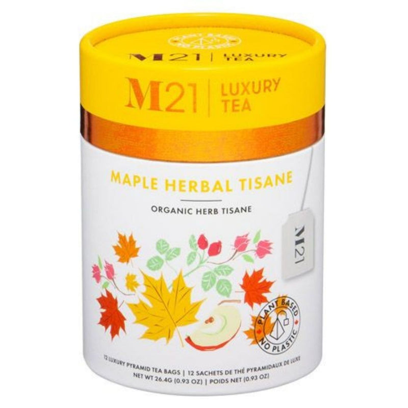 Maple Herbal Tisane - 12ct Luxury Canister